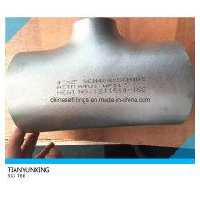 Butt Weld Wp317 Seamless Stainless Steel Reducing Tee