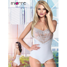 MIORRE SLEEVELESS WOMEN LACE REVEALING SNAP BODYSUIT
