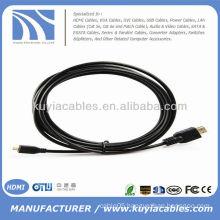 Micro HDMI to HDMI Cable Male to Male Digital AV for Motorola Sony Ericsson Fuji F85EXR