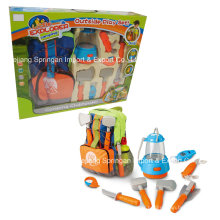 Boutique Playhouse Plastic Toy-Camping Set avec sac
