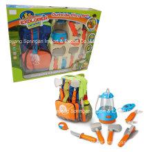 Boutique Spielhaus Plastik Spielzeug-Camping Set mit Tasche