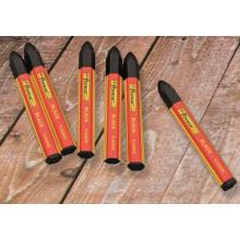 6PCS não-tóxico impermeável marcação Crayon marcação marcador preto
