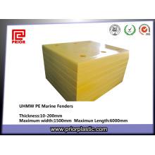 Pára-choque personalizado de UHMWPE com alto impacto e resistência de desgaste