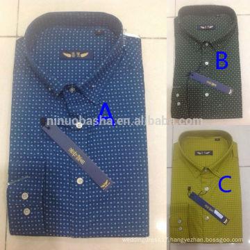 New Arrival 2014 Latest Style Men's Dress Shirt Wholesale Men's Casual t Shirts NB0554