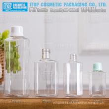 Serie TB-DM 60ml 120ml 230ml 450ml color popular único personalizable buena calidad polígono/octágono, reciclaje de botellas de pet