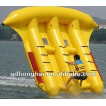 fly fish banana boat with pvc
