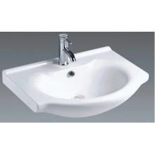 Lavabo cerámico superior de la vanidad del cuarto de baño montado (B650)