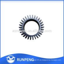 La precisión de aluminio a presión las piezas del disipador de calor de la vivienda LED de la fundición