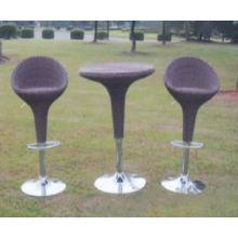 Stock outdoor wicker furniture Bistro Set Accept Min Order