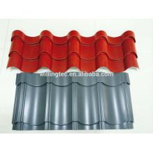 Color coated corrugated steel tile