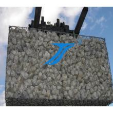 Gabions de maille galvanisée par Hotded / boîte de maille de Gabion de revêtement