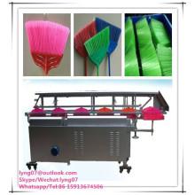 máquina de aparar a vassoura automática / escova máquina de corte de vassoura