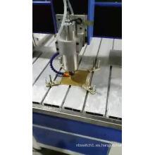 Máquina grabadora de mesa mini enrutador cnc IGM-4040 mesa móvil enrutador cnc