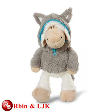 Meet EN71 and ASTM standard ICTI plush toy factory plush toy sheep