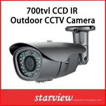 700tvl Sony CCD al aire libre IR bullet seguridad cámara de circuito cerrado de televisión