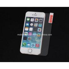 Protector de cristal moderado de la pantalla de 9h 2.5D para el iPhone 5 5s