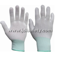 Polyester Work Glove with PVC Mini Dots (PN8107)
