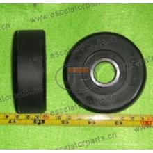Rolltreppe Kettenrolle, Stufenrolle für Hyundai Rolltreppe, 76 * 25mm
