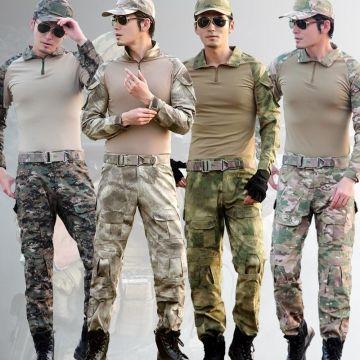 Uniforme Militaire Camouflage Multicam pour Vêtements Militaires Tactiques