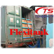 Spediteur Flexibag in ISO-container