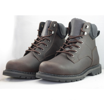 goodyear welt full grain leather safety boots