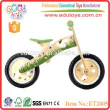 Vélo équilibré en bois pour enfants