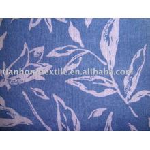 100% Cotton Crepe Printed Shirt Dress Fabric