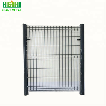 Segitiga Bending Fence 3D Curved Wire Mesh Welded