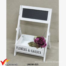Small Rustic Wedding Wood Flower Arranging Stands