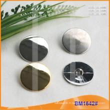 Bouton en alliage de zinc et boutons en métal et bouton de couture métallique BM1642