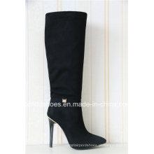 Novo elegante sexy salto alto moda Lady Winter Boots