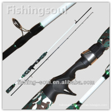CTR020 2 Section Camouflage Casting Brave Fishing Rod