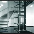 Ascenseur de passager de bâtiment en verre de centre commercial d'ascenseur de prix bon marché de luxe