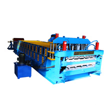 Popular profile double layer roofing sheet making roll forming machine