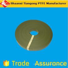 Materiales primas ptfe guías cinturones suministro de fábrica