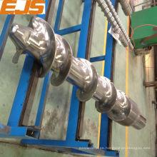 personalizar los tornillos y barriles para la máquina de goma