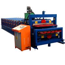 1000-900 ordinateur-contrôle double-couche double couche rouleau formant la machine botou ville / double pont équipement pour feuilles de métal