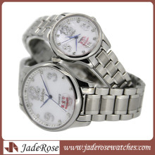 The Trend of Fashion Couple Watch. All Stainless Steel Watch