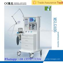 MSLGA06 Équipement médical de haute qualité Ventilateur d'anesthésie avec deux types de vaporisateur