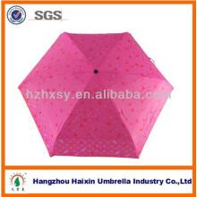 Portátil Mini personalizado Mini crianças guarda-chuva com um grande