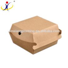 Forme adaptée aux besoins du client! Emballage rapide de nourriture pour la nourriture emportent la boîte en gros