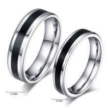 Faux anneaux de mariage faux, mode nouvelle bague de mariage de modèle