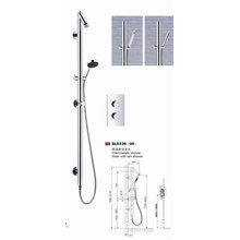 Conjunto de ducha grifo de ducha de lujo con estilo moderno