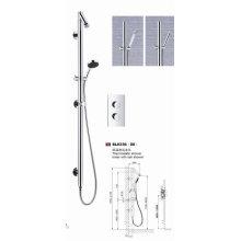 Torneira de chuveiro de chuveiro com estilo moderno