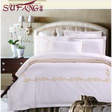 Hotel de lujo Fábrica directamente alta 100% algodón Ropa de cama de algodón súper suave superior 5 ropa de cama de lujo 5 dormitorios hotel hogar