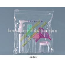 Conjunto de garrafas de viagem de embalagens cosméticas de 6 peças