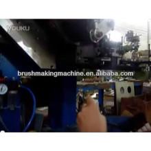 semi-automatic horse hair brush tufting machine