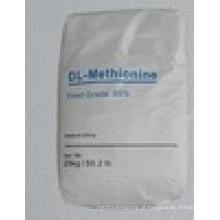 Dl-Metionina em pó branco para alimentação
