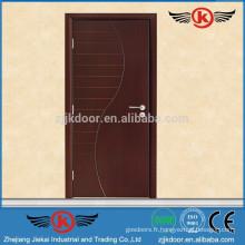 JK-HW9104 Porte en bois moderne pour chambre à coucher