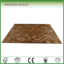 Oak laminate wood flooring art parquet